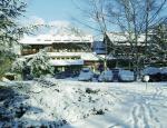 Italský hotel Palace v zimě
